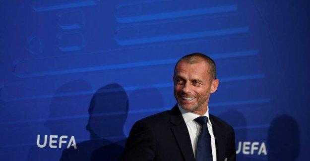 Uefa has no plan B for the Champions League-liquidation