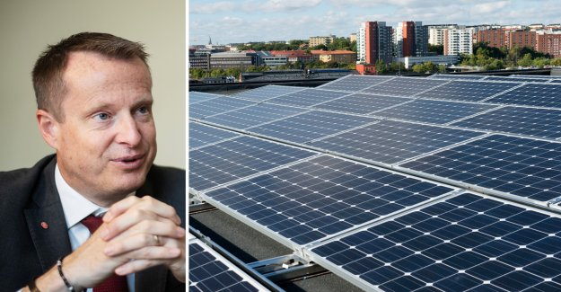 Why straffskattar you to solar power, the government?