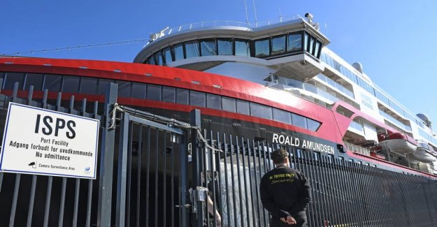 33 the staff on Hurtigruten in Norway infected with corona