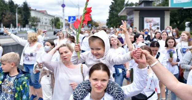6000 detained in Belarus since the disputed elections