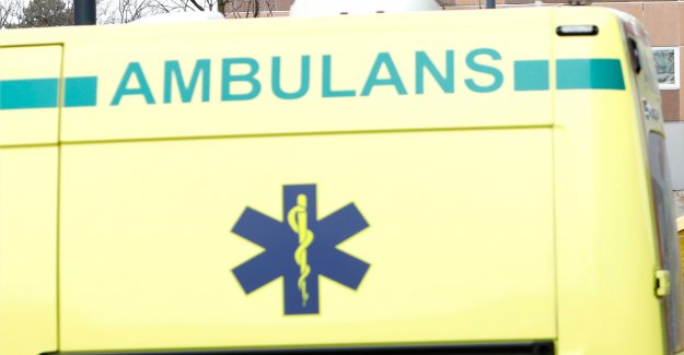 A boy sick at the beach – the ambulance crew did not arrive