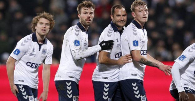AGF-states: Finnish team is better than we think in Denmark
