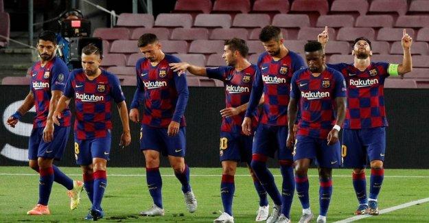 Barcelona hit of corona before the CL-bang