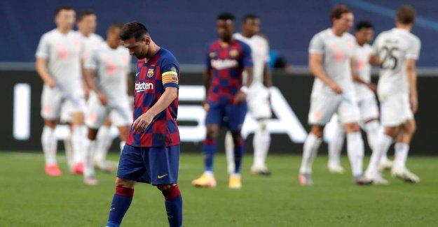 Bayern humiliate Barcelona in the CL quarter-final