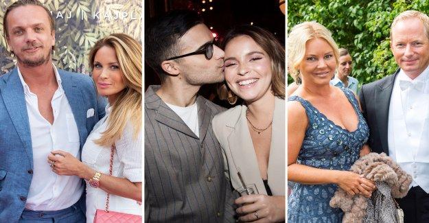 Celebrity kärleksförbannelser – the pair moved apart, in the corona