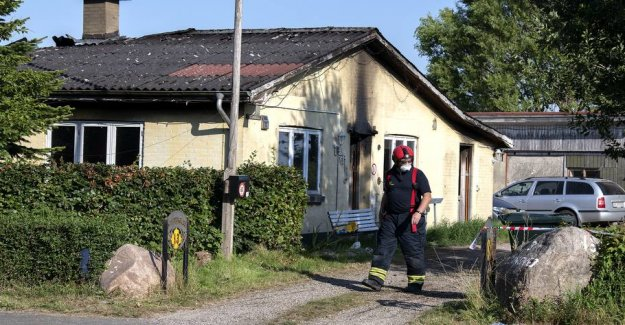 Child perished in the fire