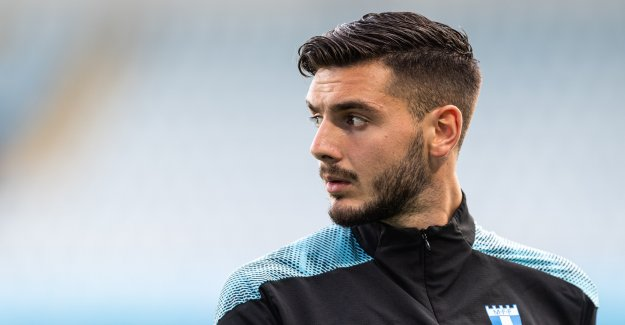 Does a surgical nurse, and his debut for Malmö FF in the evening