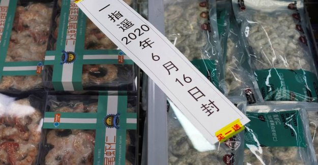 Frozen chicken from Brazil tested positive for the coronavirus