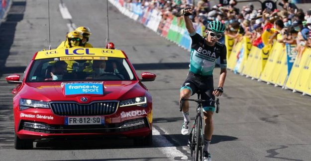 German snatches first victory as a professional in the Dauphiné