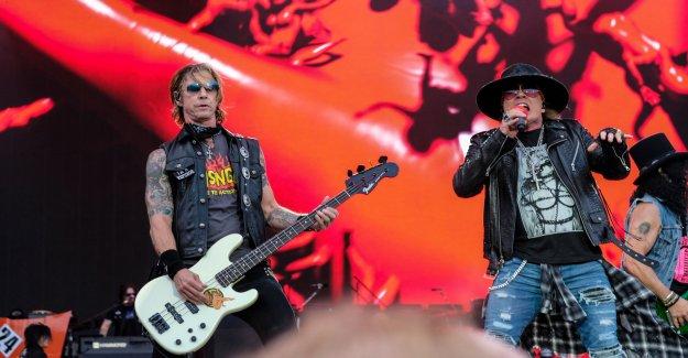 Guns N' Roses, ready for Sweden Rock Festival