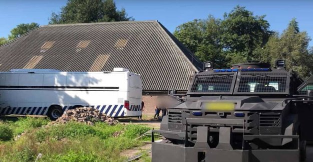 Holland police have blown up big kokainring
