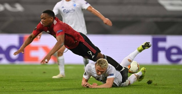 Manchester United beats the FCK out of the Europa League after extra time