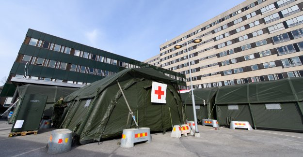 Now shut fältsjukhuset in the East, down