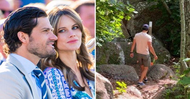 Prince Carl Philip and Sofia shows off a new insider's tip: the Adventures of