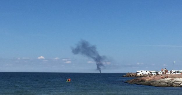 RIGHT NOW, the Two threw themselves from the burning boat