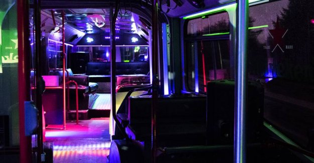 Requirements on mundbind also applies partybuses