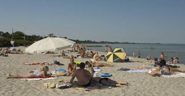 Saksild Beach becomes new hotspot