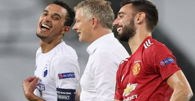 So you it: Zeca and Solskjær in cheerful talk
