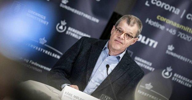 Sundhedsordfører after Mølbak-bomb: - Not appropriate