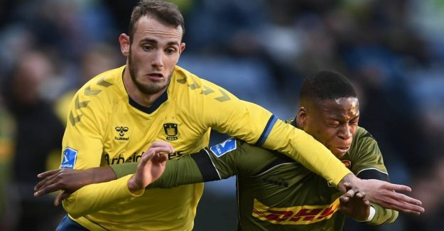The Brøndby player out for several weeks