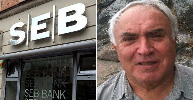 The bank blocked the George's bank account: You're too old