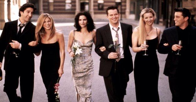 The collapse of the Friends återförningen set