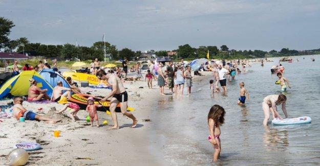 The mayor will make the beaches in Copenhagen free of smoke
