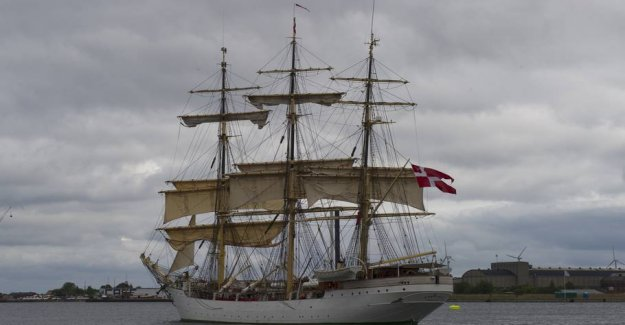 Training ship Denmark has a student infected with the coronavirus