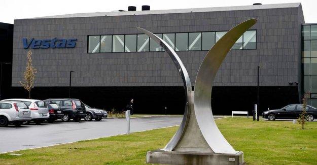 Vestas is losing money despite rising sales