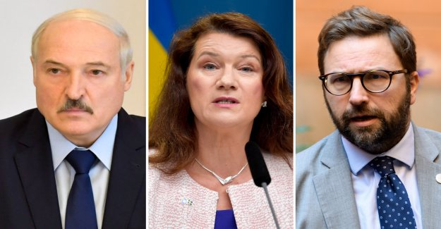 Your kid gloves will not help Belarus, by Ann Linde