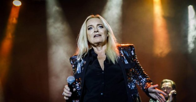 Absent from the concert: Anne Linnet operated