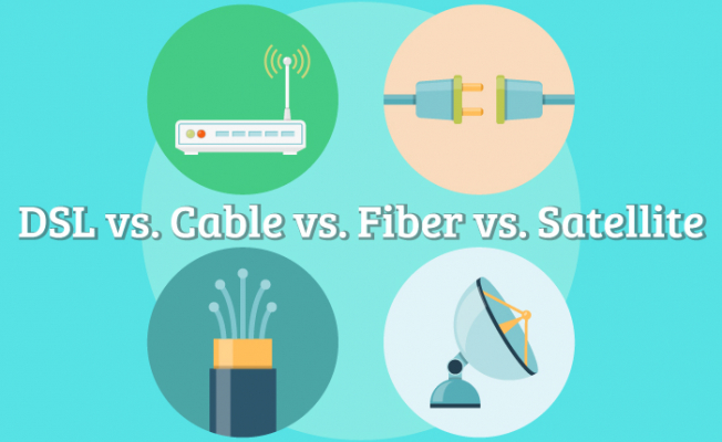 Cable net, DSL Internet, or Satellite Internet? What to choose?