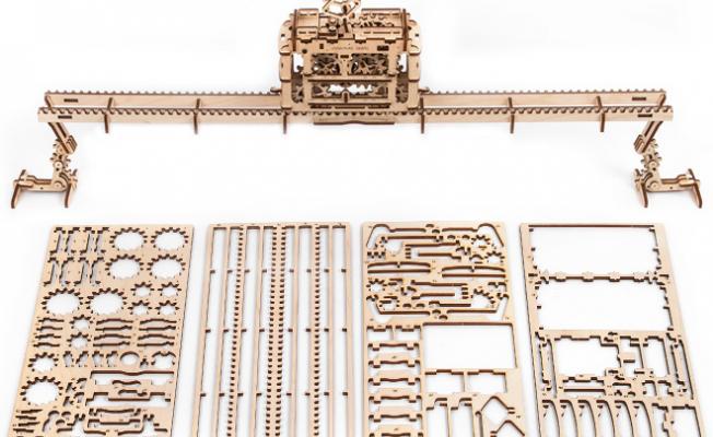 Wooden Mechanical 3d Puzzle