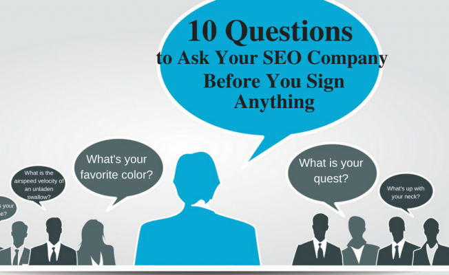 10 Things to Look for in an SEO Company