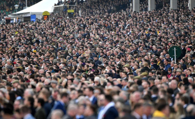 COVID Vaccine Can't Rescue Cheltenham Festival Crowd