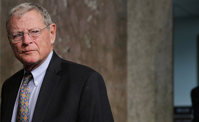 Sen. Jim Inhofe's Big Thought:'Make China play with the Very Same rules as Everybody else'