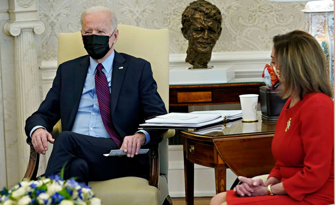 Biden:'We Can Not do a Lot of' on COVID-19 relief,'' GOP'not Ready to go' Much enough