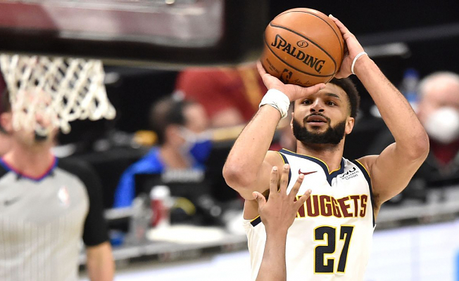 Denver Nuggets' Jamal Murray first with 50 points, zero free throw Tries