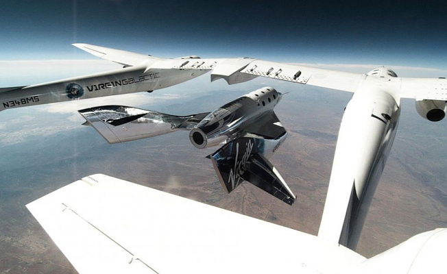 Length of next Virgin Galactic flight up from the Atmosphere