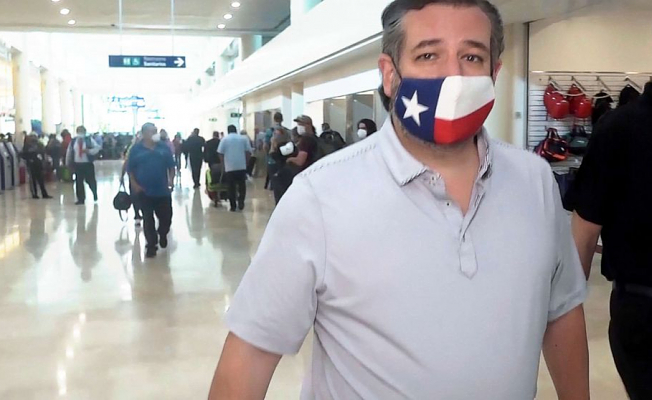 """O'Rourke stated Cruz""""is vacationing in Cancun when individuals are freezing to death."""""""