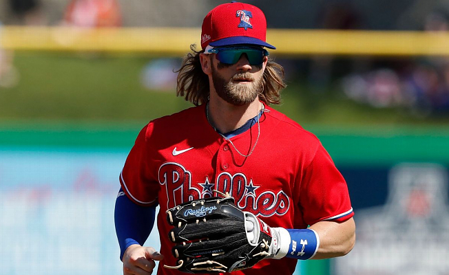 Philadelphia Phillies' Bryce Harper says NL East is a'juggernaut of a Branch'