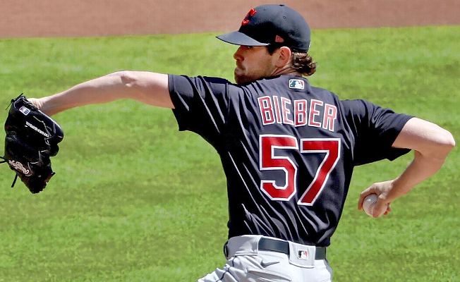 Historical Beginning for Shane Bieber as Cleveland Indians Genius strikes out 13 in Triumph over Cincinnati Reds
