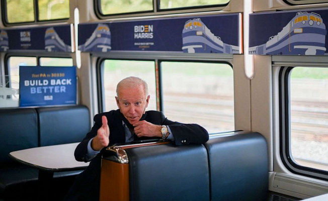 Longtime Amtrak Enthusiast Biden to pitch infrastructure in train Ceremony anniversary Friday