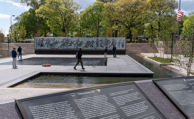National World War I Memorial Published in Washington over 100 Decades after