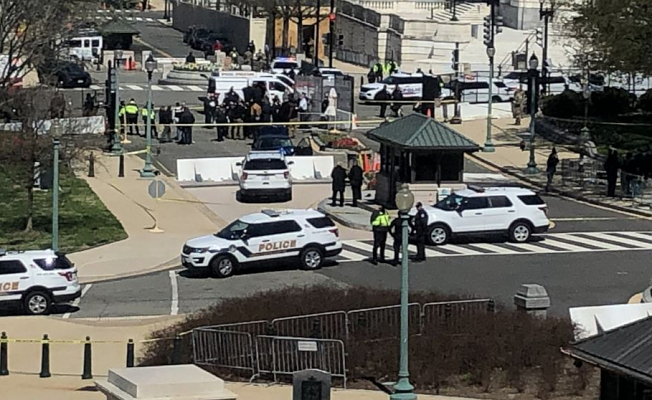 Shots fired Following car rams into officers in Capitol: Resources