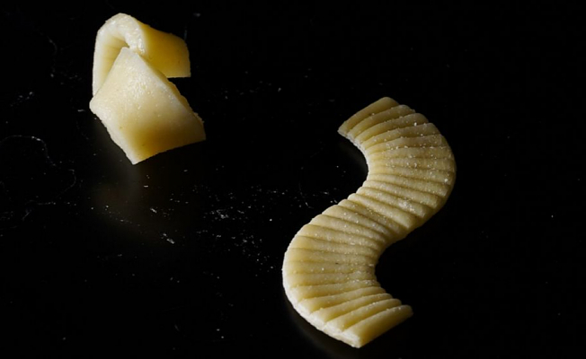 Groovy flat-packed pasta could help revolutionize food production