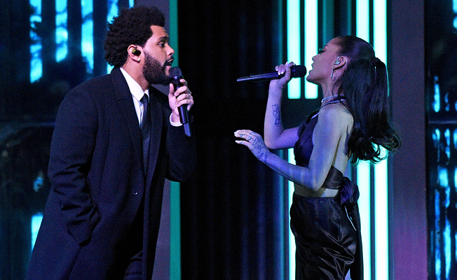 IHeartRadio Music Awards sees The Weeknd win high accolade, Ariana Grande make initial appearance as a newlywed