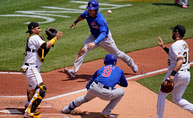Javy Baez at-bat turns into Awkward moment for Pirates, Cubs steal run in 5-3 Success