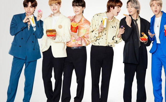 K-Pop Group BTS And McDonald's Launch Tasty Supper And Clothing Line