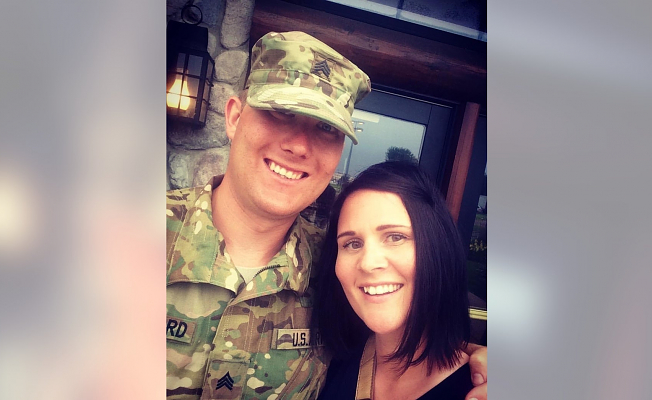 Soldiers shave heads for Conflict Friend's sister fighting cancer